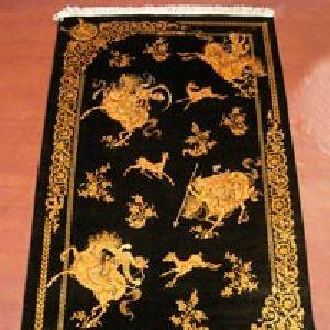 Kashmiri Handmade Silk On Carpets