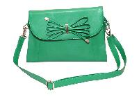 Essart P.U. Leather Women Handbag- 71173-A-Green