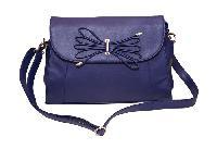 Essart P.U. Leather Women Handbag- 71173-Blue