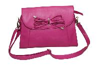 Essart P.U. Leather Women Handbag- 71173-Pink