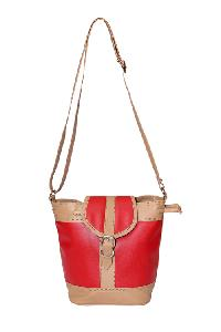 Essart PU Leather Women Sling Bag-71174Red