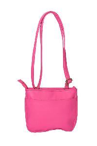 Essart PU Leather Women Sling Bag-71181-Pink
