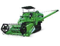 Track Combine Harvester