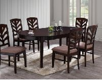 Flourish Wooden Dining Set Table