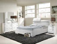 VALENCIA WHITE 111100 platform bed