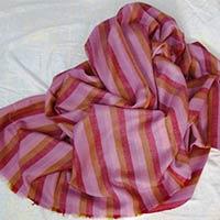 Striped Pashmina Shawl