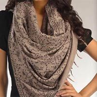 Paisely Embroidered Pashmina Shawl