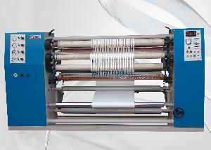 Semi Automatic Slitting & Rewinding Machine