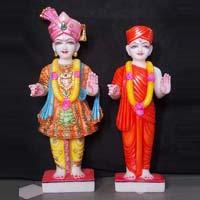 Marble Swami Narayan Statues