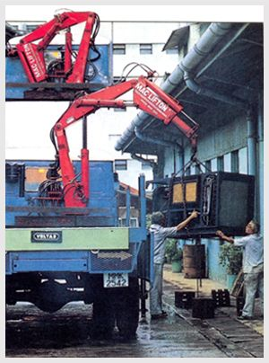 Truck Mounted Knuckle Boom Cranes