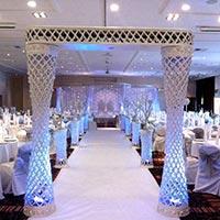 Wedding Crystal Mandap