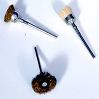 Brass Wire Brush Cup