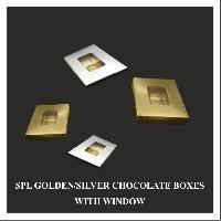 Golden & Silver Chocolate Boxes