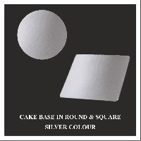 Silver Cake Base Board