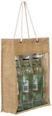 Three Bottle Window Bag