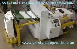 Automatic Creasing And Die Cutting Machine