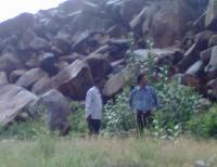 Impala Black Granite Stones