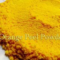 Dehydrated Orange Peel Powder