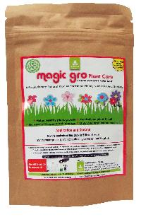 Magic gro Plant Care - Organic Plant Growth Promoter for Lawns, Terrace and Kitchen Gardens