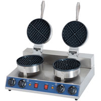 Stainless Steel Electric Waffle Baker