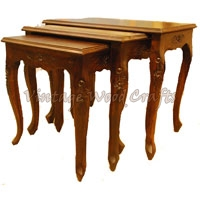 3 Piece Wooden Coffee Table