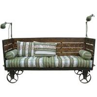 Industrial Mobile Sofa