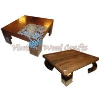 Log Wood Coffee Table