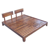 Wooden Classic Bed
