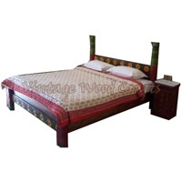 Wooden Four Post Bed
