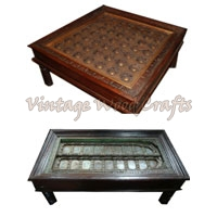 Wooden Old Look Coffee Table