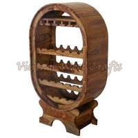 Wooden Oval Wooden Bars