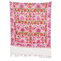 Wool Embroidery Stoles