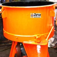 Pan Type Concrete Mixer