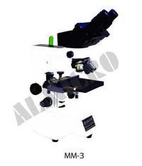 Almicro Binocular Metallurgical Microscope