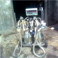 Double Cans Milking Machine