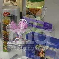 Transparent Plastic Folding Boxes