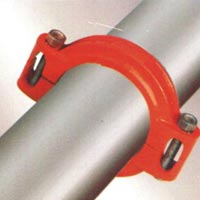 Shoulder End, Flexible Coupling Galvanized Collared Steel Pipes