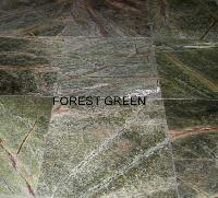 Dark Rainforest Green Granite