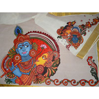 Mural Paintings Sarees