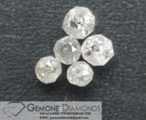 Faceted Loose Diamond Beads.