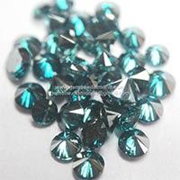 Blue Color Loose Diamonds
