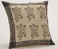 Leather Printed Cushion Cover