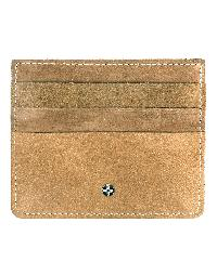 JLCollections 6 Card Slots Brown Men And Women Leather Card Holder - JL_CC_3117_B