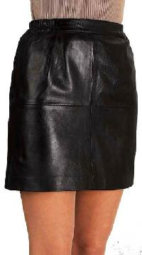 Ladies Leather Short Skirts