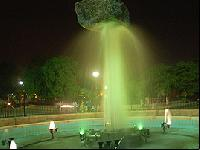 Rock Fiber Fountain