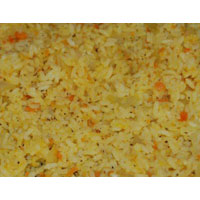 Orange Raw Rice