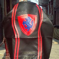 Ferrari Design Motorcycle Seat Cover