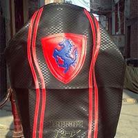 Ferrari Design Motorcycle Seat Cover