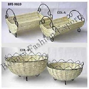 Decorative Wicker Trays