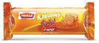 Orange Flavoured Cream Biscuits